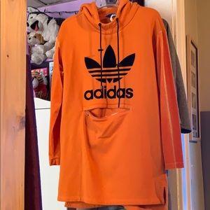 Xs oversized adidas hoodie dress